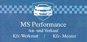 MS Performance: Ihre Autowerkstatt in Hamburg